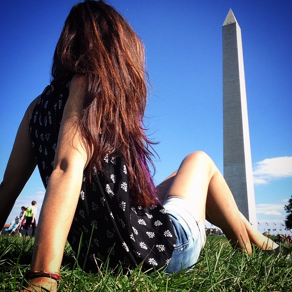 Washington Monument. (Image taken by Mattina Alonge)
