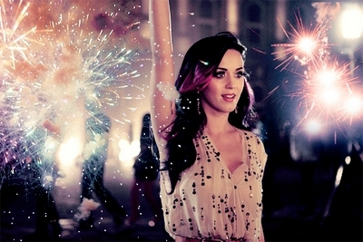 "Credit to Katy Perry ""Firework"" Capitol Records"