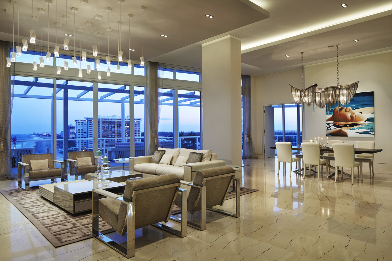 helius lighting group. 700 Penthouse 03.jpg Helius Lighting Group