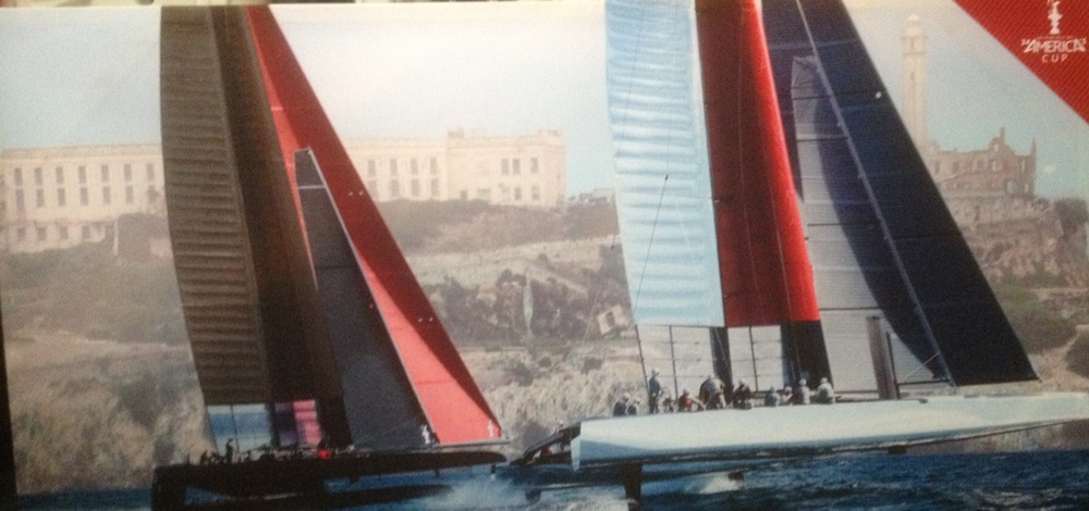 Two flying a hull Alcatraz (8 foot x 4 foot)                              $500 (2 available)