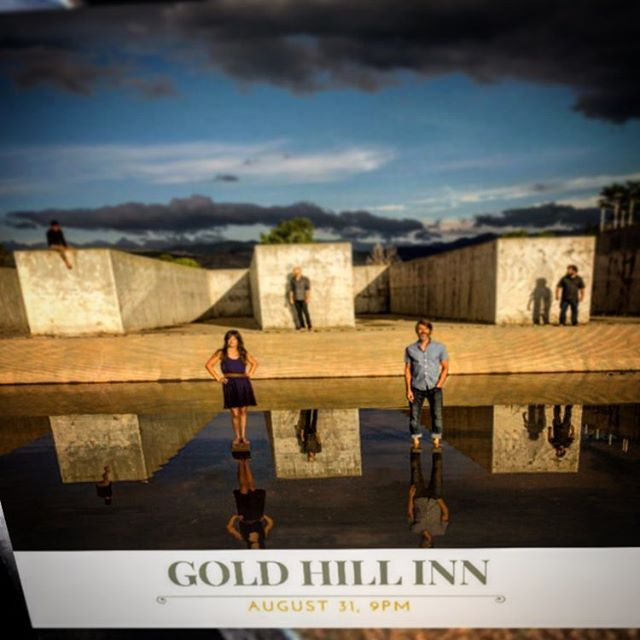 We are closing in real fast on tomorrow night's show at #GOLDHILLINN  Are you planning to be there?! AUG 31, 9-11