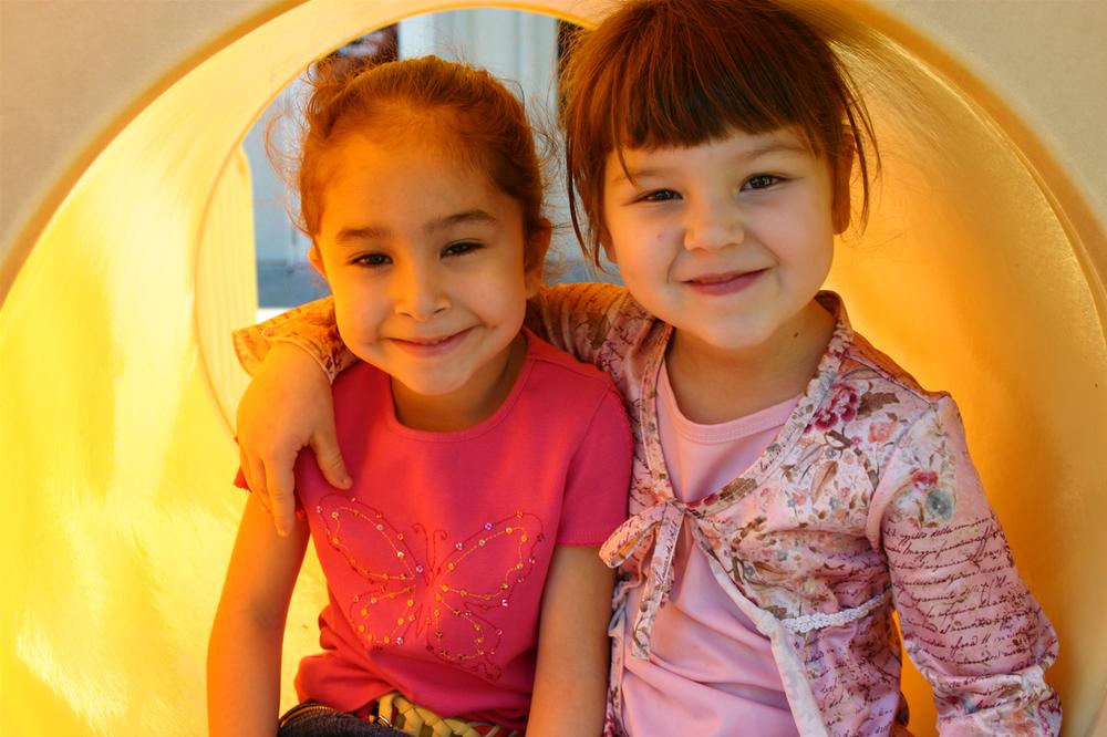 2 girls in a tunnel.jpg
