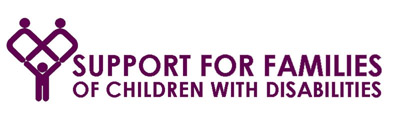 Support for Families of Children with Disabilities logo.
