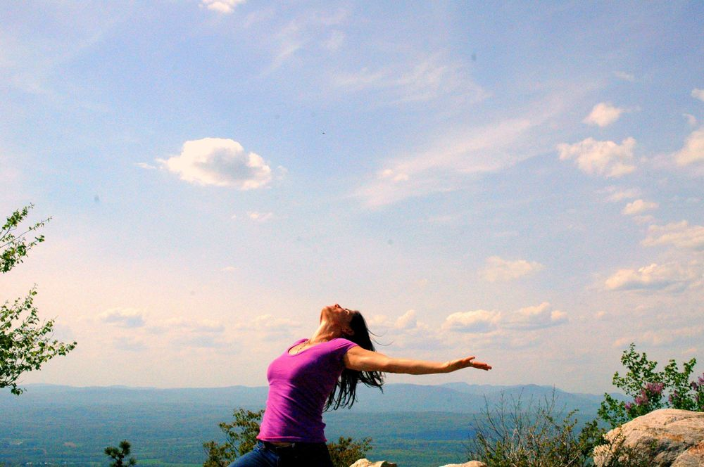 Breath of fresh air breathing meditation for spring opening