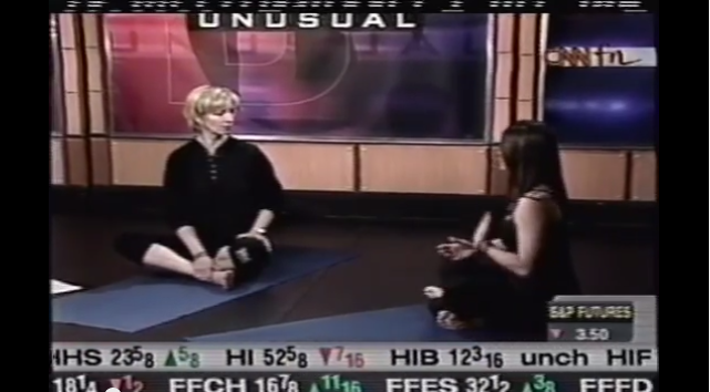 Jillian talks Corporate Yoga on CNN's Business As Usual