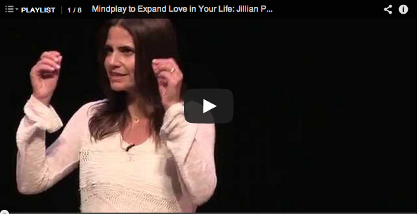 Jillian's TEDx Talk on Mindplay to Expand Love