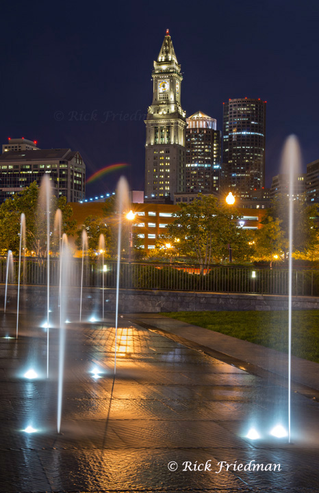 Rose Kennedy Greenway and Marriott's Custom House