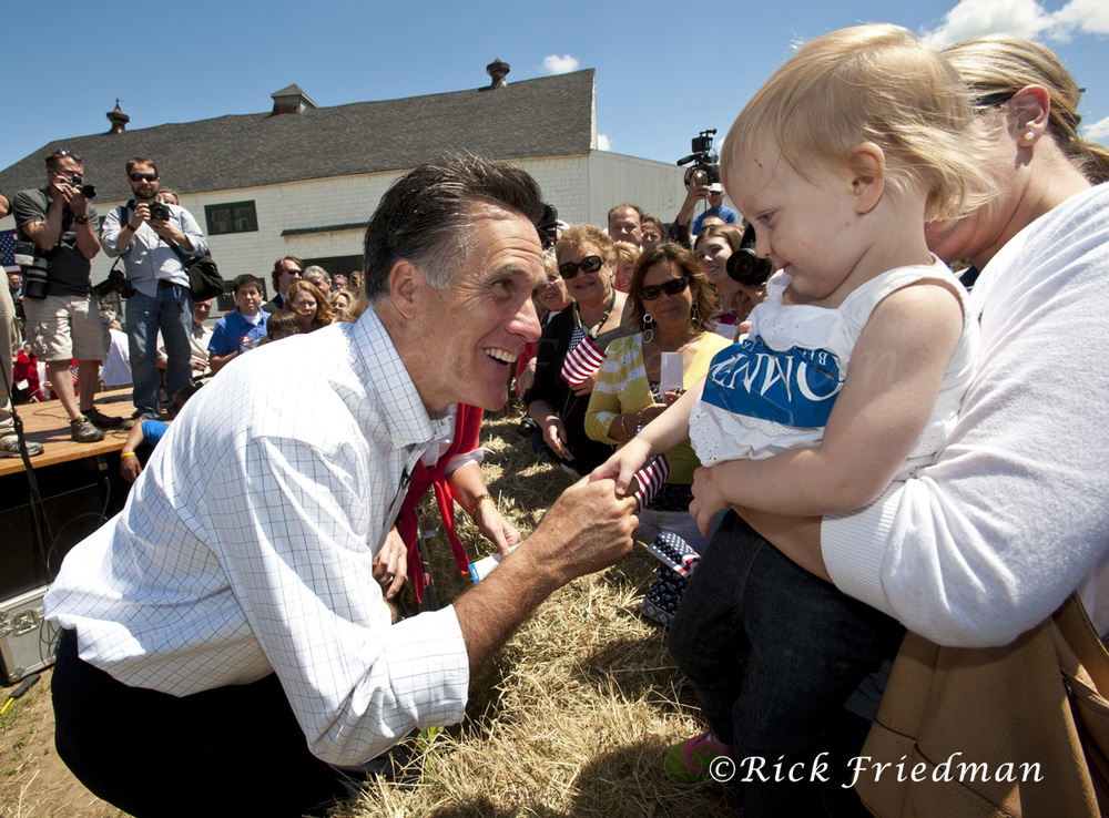 Mitt Romney in NH for Corbis