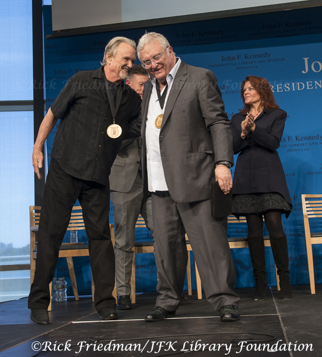 Kris Kristofferson and Randy Newman