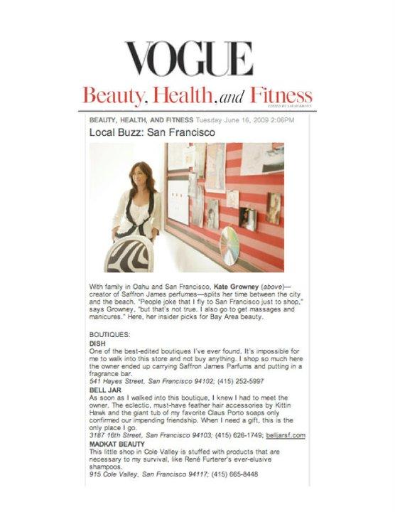 Vogue.com June 2009