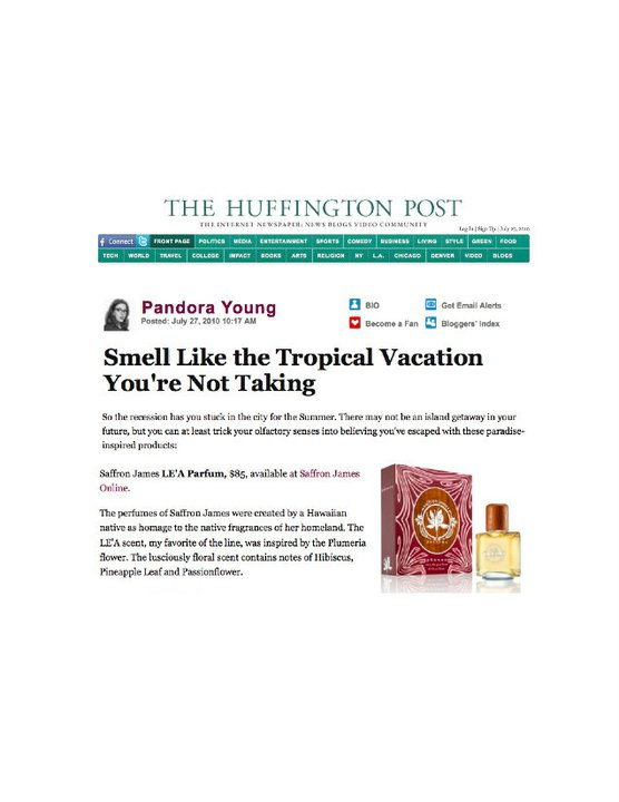 The Huffington Post July 2010