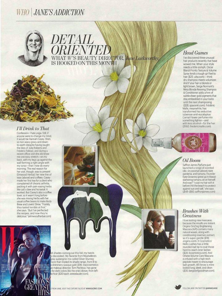 W Magazine August 2012