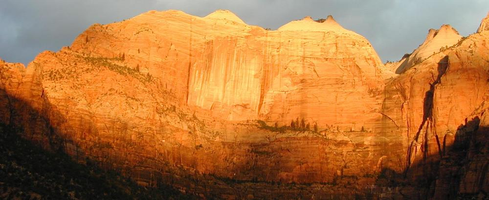Perhaps the most inspiring place on Earth to me: Zion National Park. Such images help keep me focused on meaning, purpose, and significance.   [Photo by Patti]