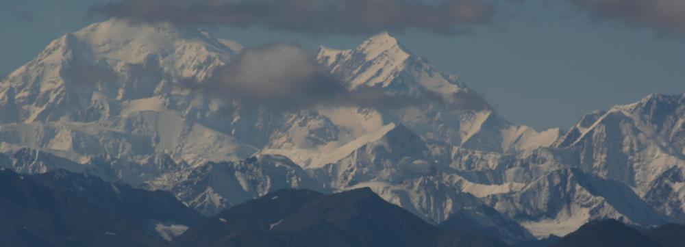 Denali - The Great One. One of many amazing places in Alaska, where I conducted research for my first major act of scholarship (my dissertation). [Photo by Patti]