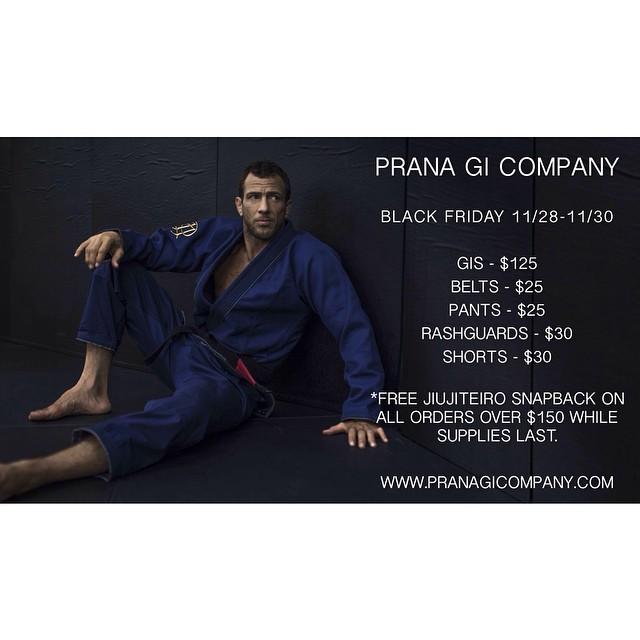 BLACK FRIDAY IS LIVE. LOWEST PRICES OF THE YEAR. www.pranagicompany.com #bjj #jiujitsu #pranagico