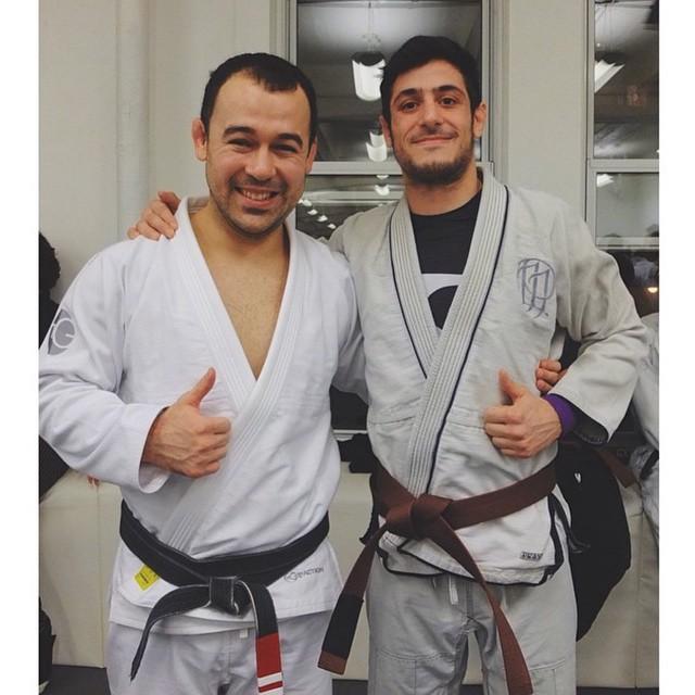 Congrats Prana fam, Adam Benayoun, newest brown belt under Marcelo Garcia. @adambenayoun #bjj #jiujitsu #pranagico