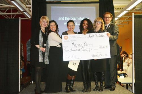 2013 Casal Aveda Institute Scholarship Winner!