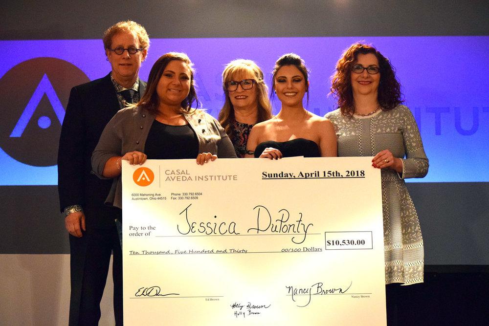 Jessica DuPonty - Esthetics Scholarship Winner