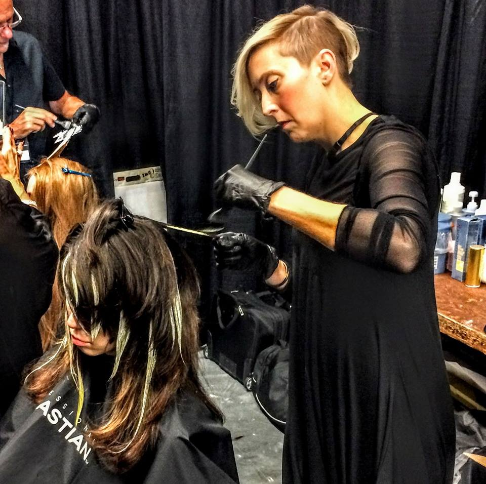 Kelsey Higginbotham - 2011 Graduate and Master Stylist - Achieving both a Bachelor's in English and her Advanced Cosmetology license, Kelsey Higginbotham believes that education, passion, and hard work are the driving forces to success. Kelsey is also a Hairdressers at Heart Advanced Sassoon scholarship winner and a Wella Master Color Expert and Educator.