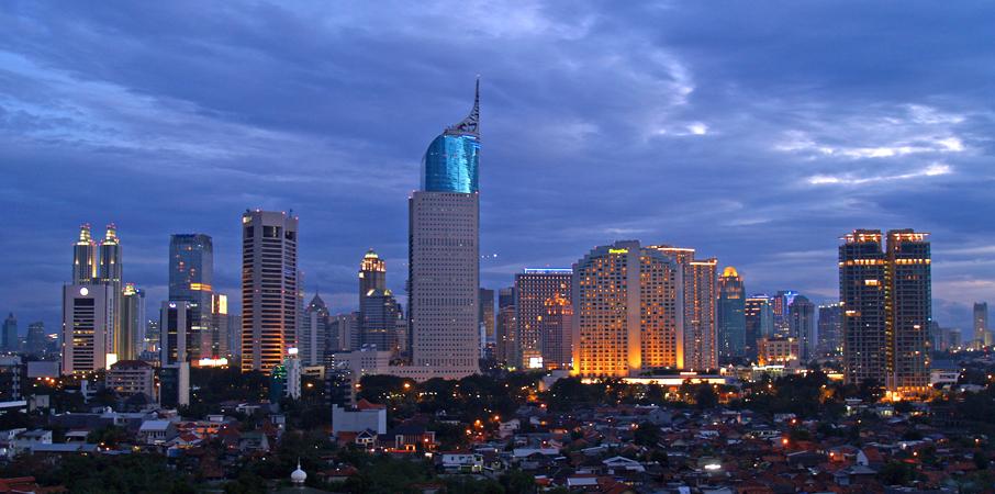 Jakarta, Indonesia (Source: Wikimedia Commons)