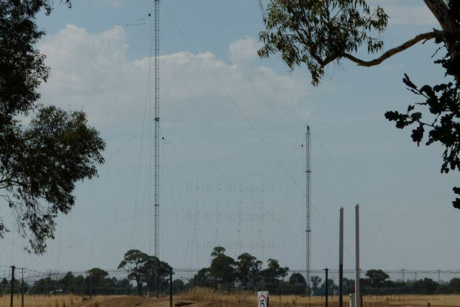 Radio Australia's Shepparton transmission site (Photo: ABC)