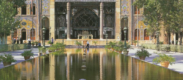Golestan Palace, the seat of Qajar kings, a Unesco World Heritage Site (Image:  Public Domain )