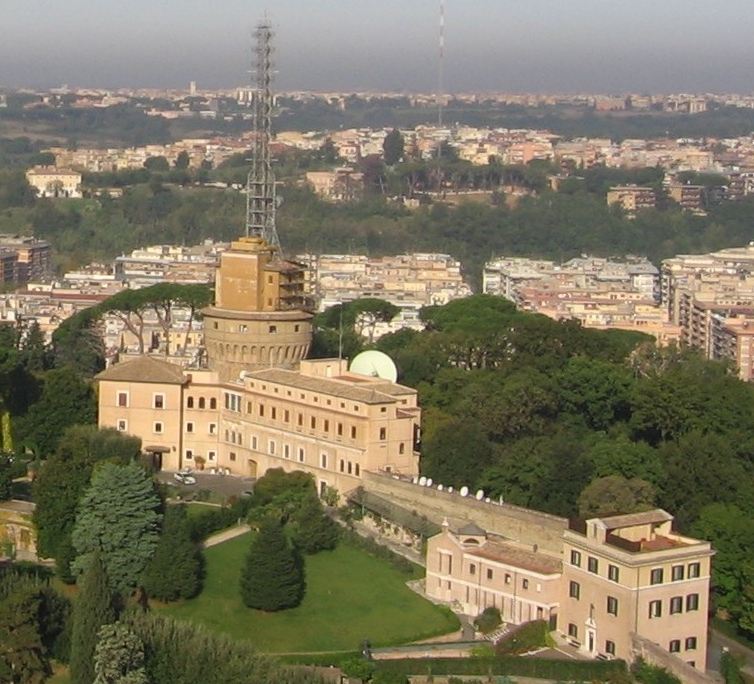 """ Vatican-radio "" by Joshua Sherurcij -  Licensed under Creative Commons Attribution-Share Alike 3.0 via Wikimedia Commons"