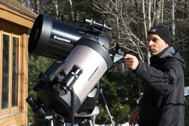 The Amateur Astronomer host: Troy Riedel