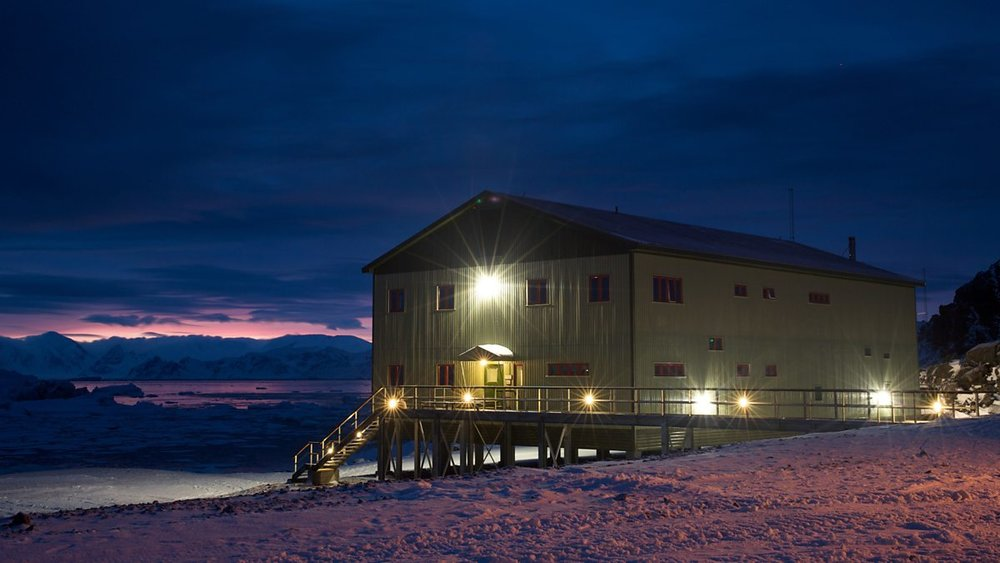 New Bransfield House, Rothera Research Station, British Antarctic Territory (BAS Photo)
