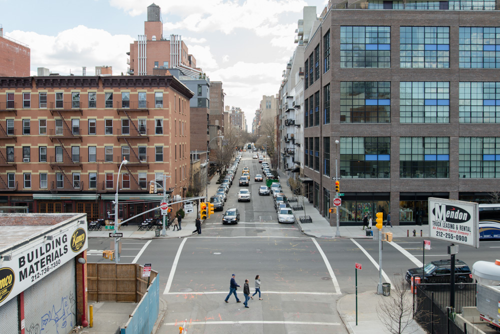 19th Street from the High Line