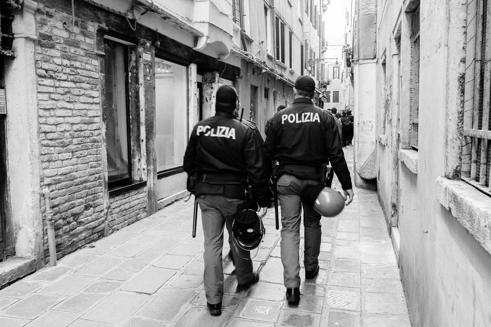Polizia (Original photograph)