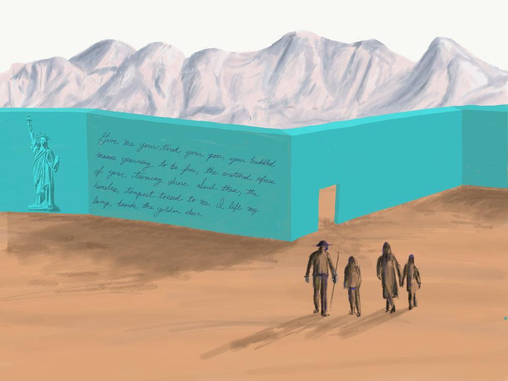 Border Wall Vision