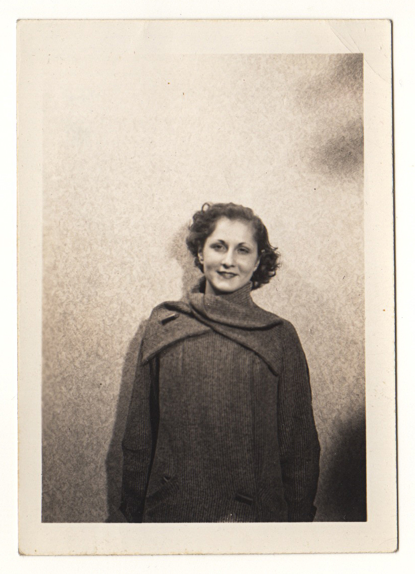 Ann Chiachetti taken in December 1935 by Ralph Chiachetti / Philadelphia