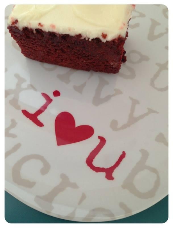 red velvet cake.....  well, really most cake
