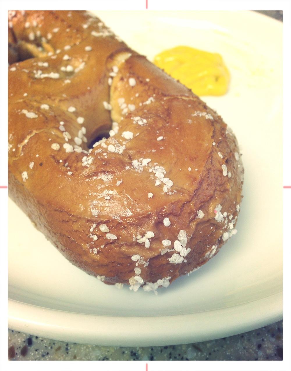 Philly pretzel