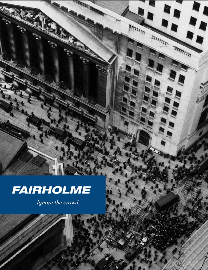 Fairholme's e-collection Brochure