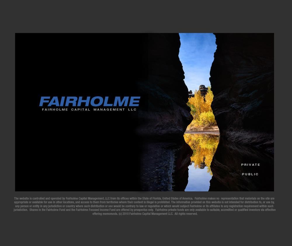 Fairholme.net website homepage