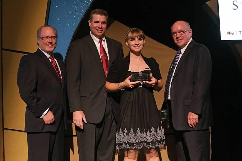 Winner of NJBIZ Forty Under 40 award