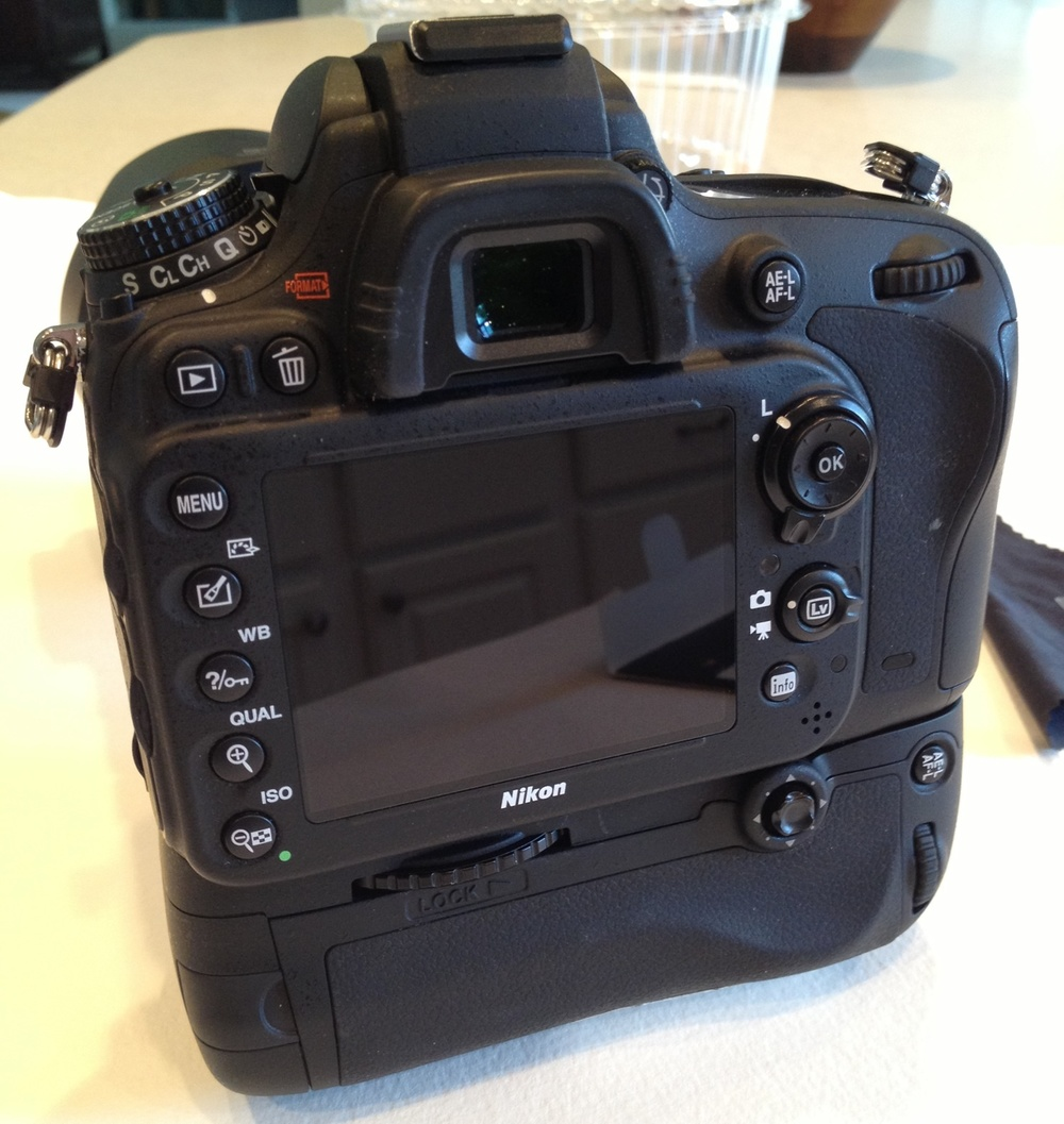 My D600 bareback.  This is how I've had my camera since I bought it.