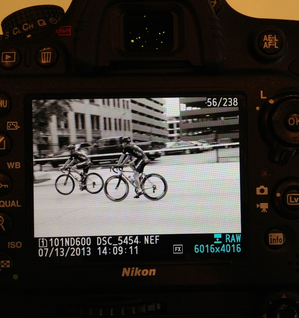 An image on the back of my D600 with the Screen Protector in place.  Bubbles don't show up.  Very clear and clean