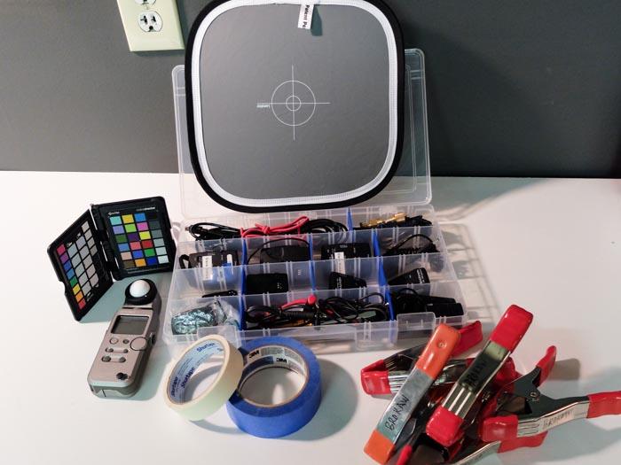My standard shoot kit