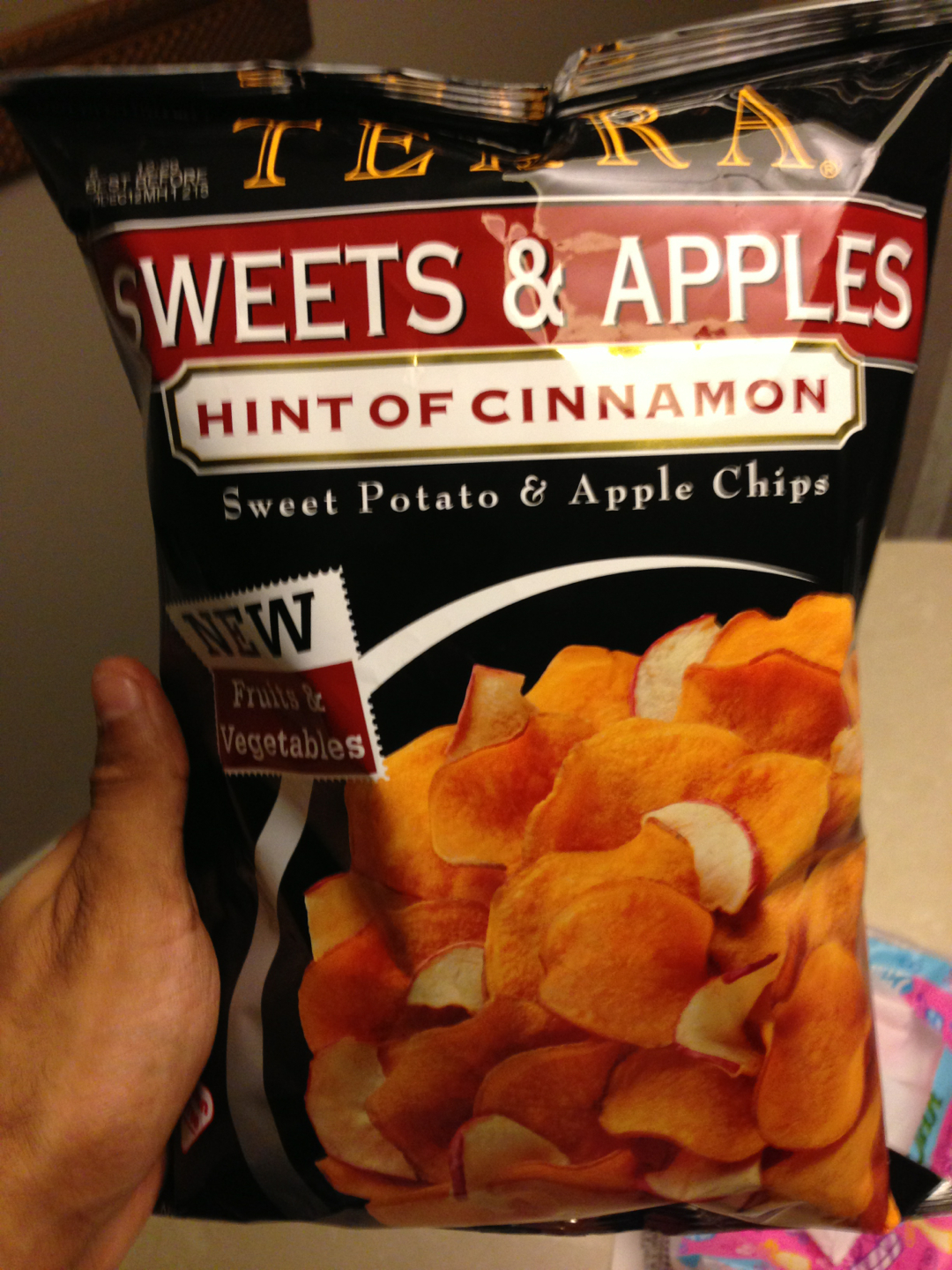 I picked up this new Terra chips pack at the supermarket today. How they make such amazing chips I do not know.