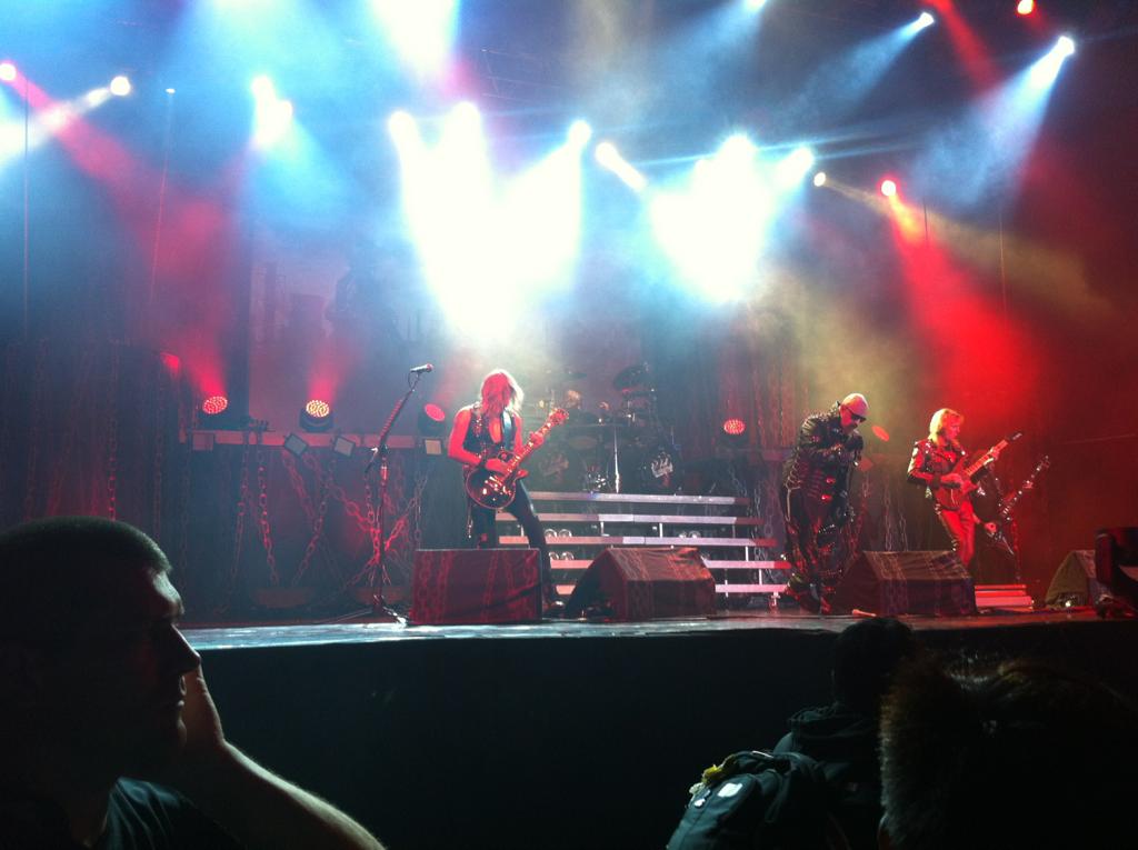 Judas Priest last night!