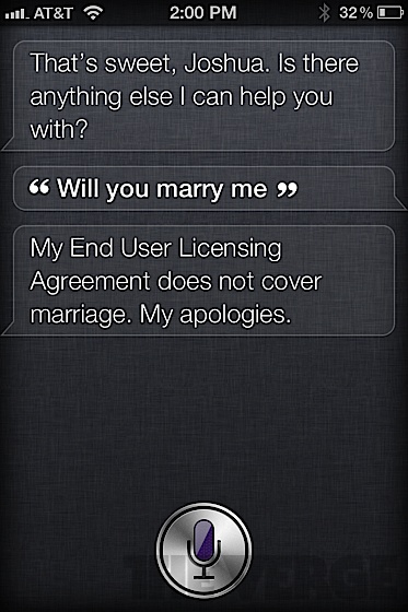 Tumblelog of the day: shit that Siri says