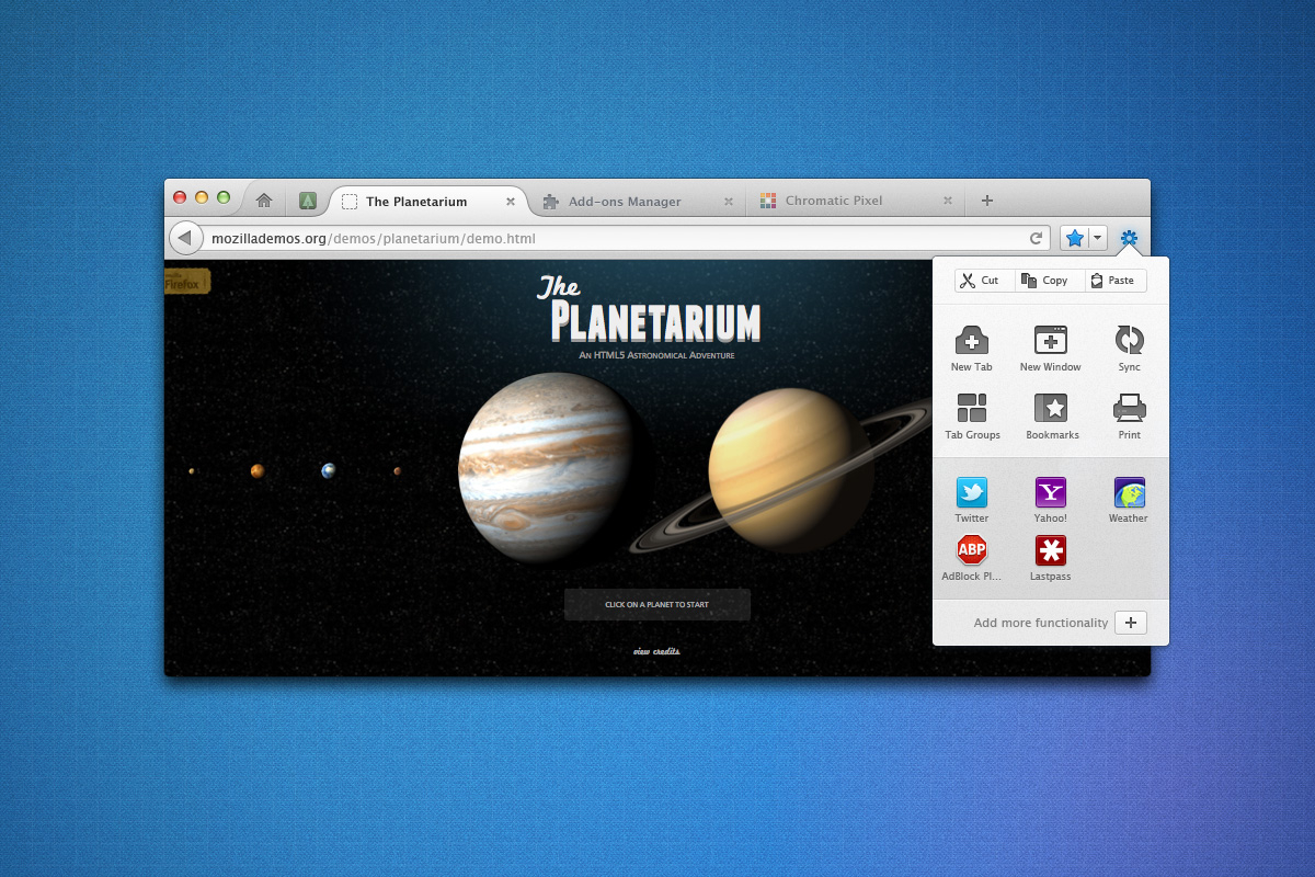 Firefox UI mock-ups. A peek at what's to come.   (via  UX Presentation Mockups )