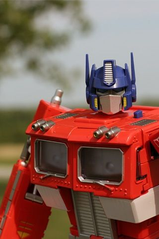 Optimus Prime - all kinds of win and awesome.