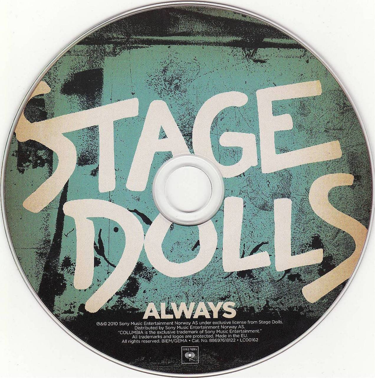 I was looking for new music and came across this album 'Always' by Stage Dolls. They've been around since 1983, but this is the first time I'm listening to these guys. Good fun rock. The album is pretty diverse and has everything from swaggering rock tunes to the slower introspective moments. 'Where the Blacktop Ends' even has a folky feel to it. Check it out if you are a melodic rock/AOR fan looking for something new.