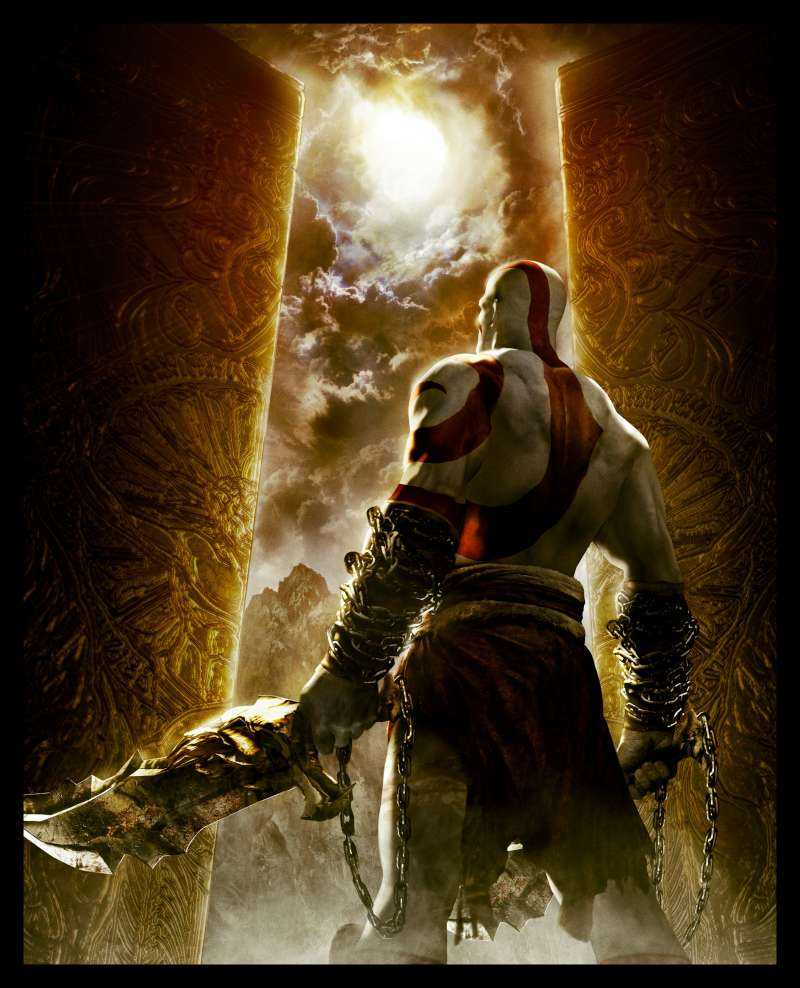I'm playing through God of War: Chains of Olympus again (in god mode this time) to commemorate the release of God of War 3. Bloody good times!