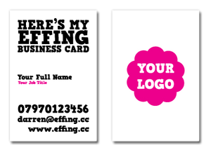The Effing Business Card