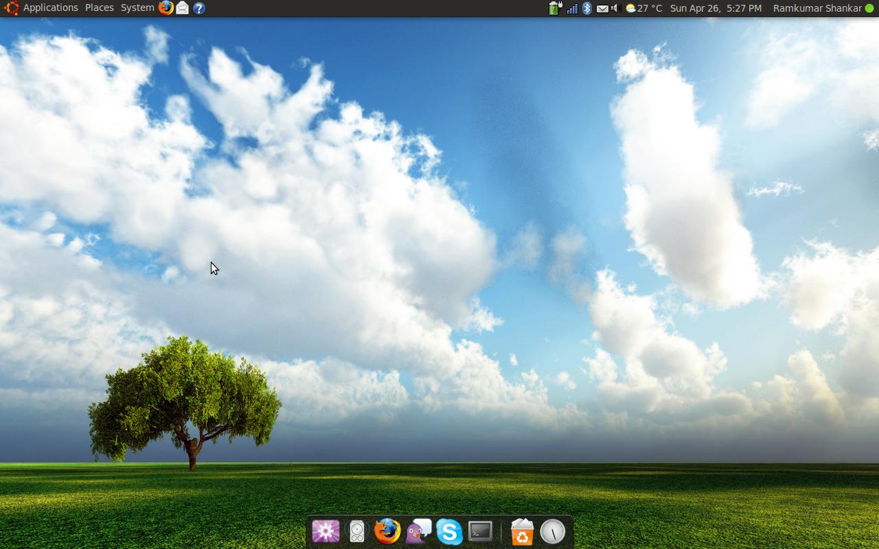 Jaunty desktop